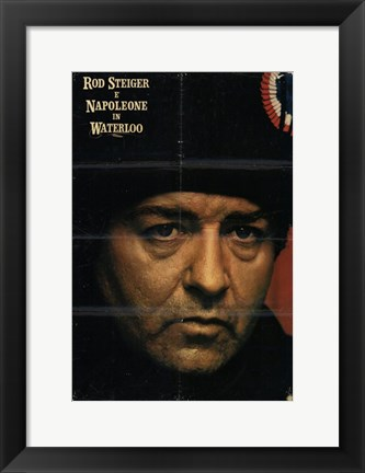 Framed Waterloo Rod Steiger Print