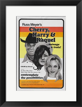 Framed Cherry Harry and Raquel! Print