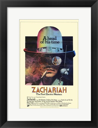 Framed Zachariah Print