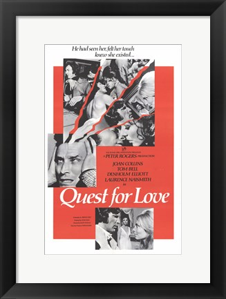 Framed Quest for Love Print