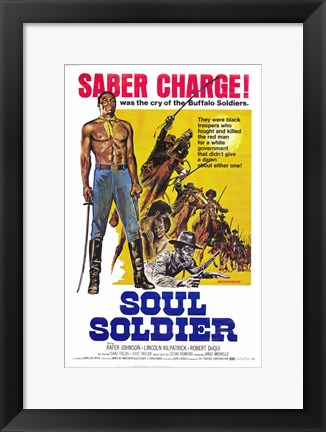 Framed Soul Soldier Print