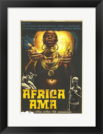 Framed Africa Uncensored Print