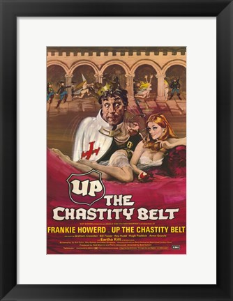 Framed Up the Chastity Belt Print