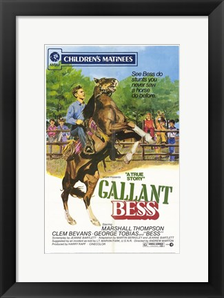Framed Gallant Bess Print