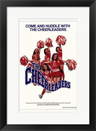 Framed Cheerleaders Print