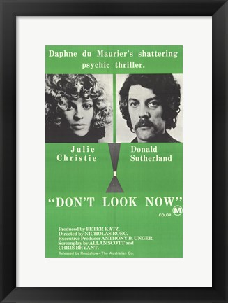 Framed Don't Look Now Print