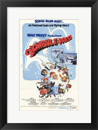 Framed Snowball Express Print