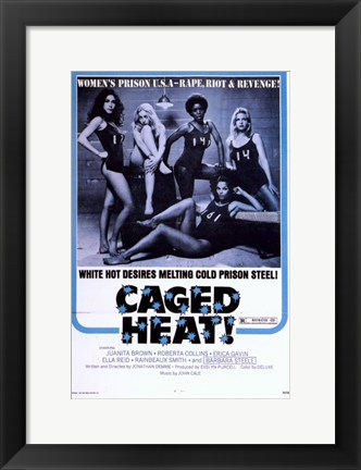 Framed Caged Heat Print
