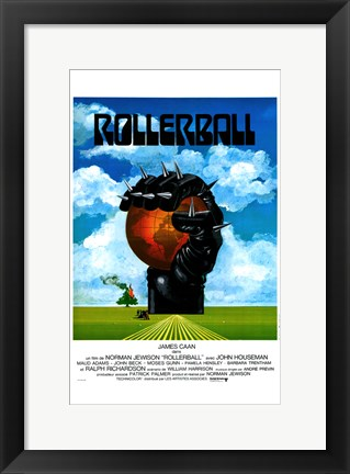 Framed Rollerball - James Caan Print