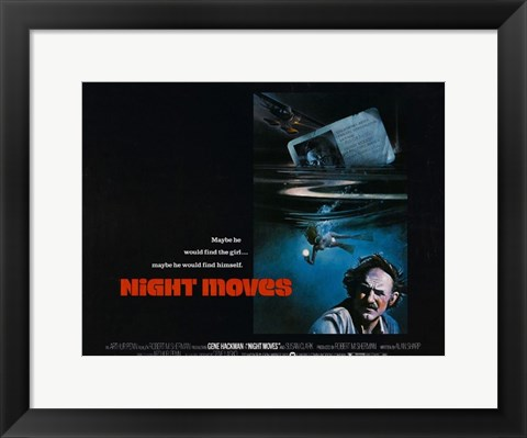 Framed Night Moves Print