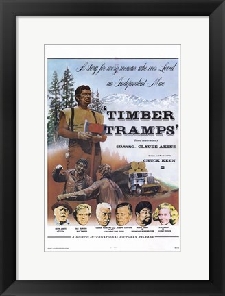Framed Timber Tramps Print