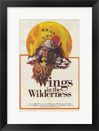Framed Wings in the Wilderness Print