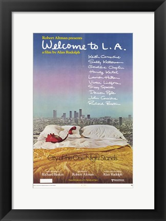 Framed Welcome to L.A. Print