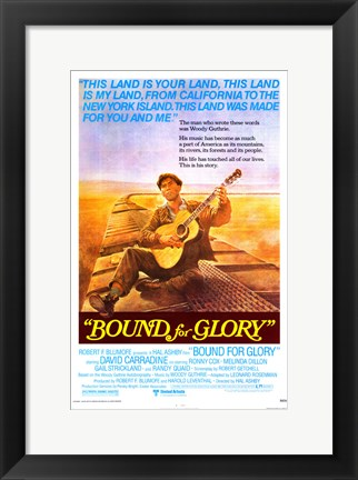 Framed Bound for Glory Print