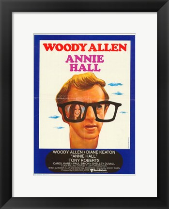 Framed Annie Hall Woody Allen Print