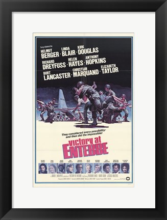 Framed Victory at Entebbe Print