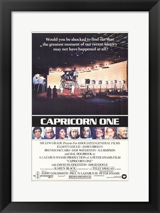 Framed Capricorn One Print