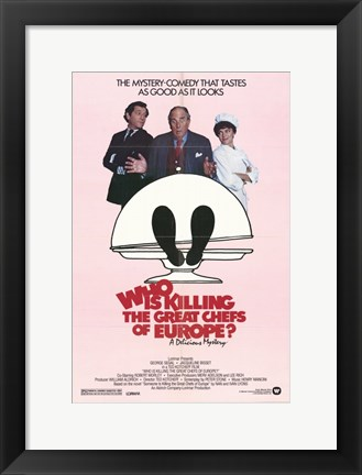 Framed Who is Killing the Great Chefs of Europe? Print