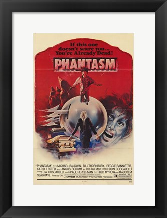 Framed Phantasm Already Dead Print