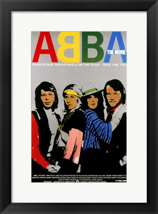 Framed Abba: The Movie - Take the tour Print