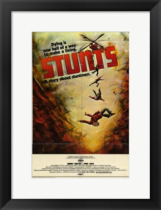 Framed Stunts Print