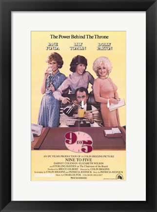 Framed 9 to 5 Print