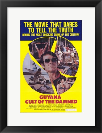 Framed Guyana Cult of the Damned Print