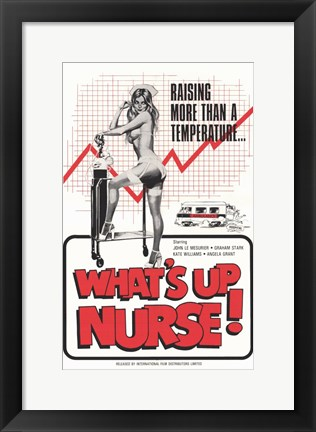 Framed What's Up Nurse Print