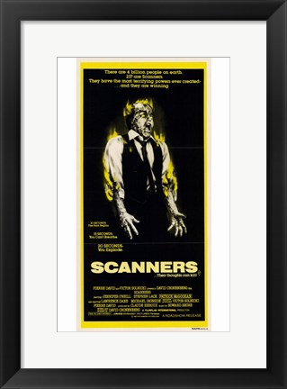 Framed Scanners - tall Print