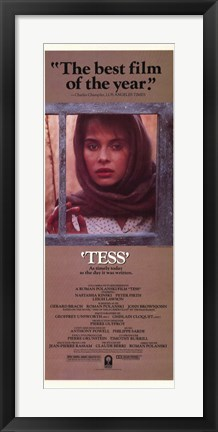 Framed Tess Best Film Print