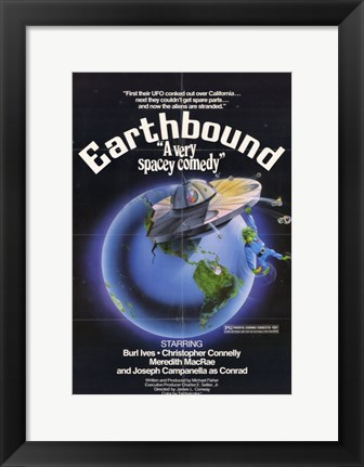 Framed Earthbound Print