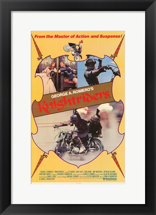 Framed Knightriders Print
