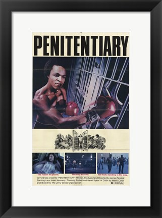 Framed Penitentiary Print