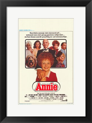 Framed Annie (german) Print