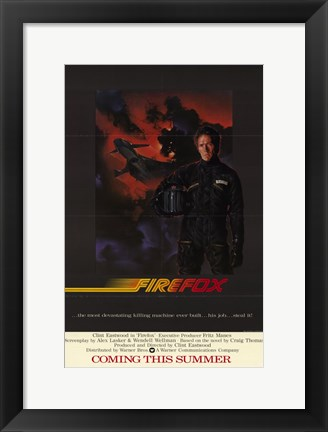 Framed Firefox Clint Eastwood Print