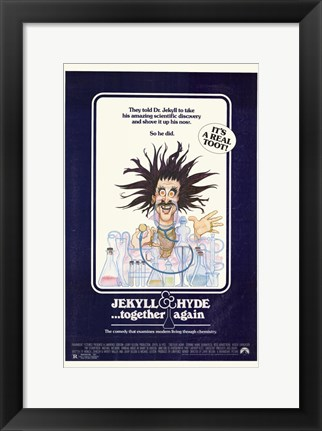 Framed Jekyll and Hyde Together Again Print