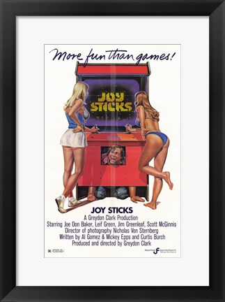 Framed Joy Sticks Print