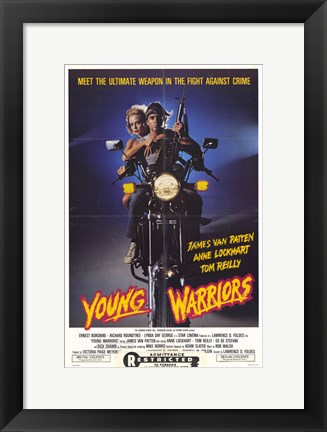 Framed Young Warriors Print
