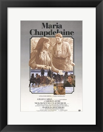 Framed Maria Chapdelaine Print