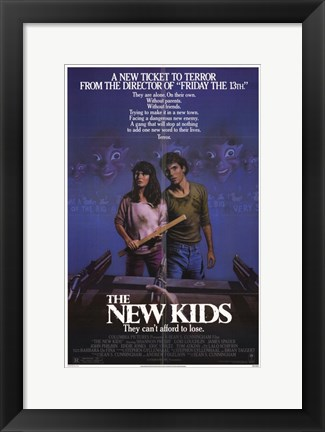Framed New Kids Print