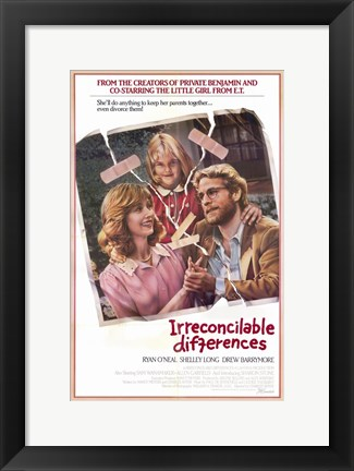 Framed Irreconcilable Differences Print