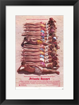 Framed Private Resort Print