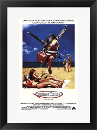 Framed Summer Rental Print