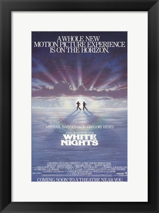 Framed White Nights Print