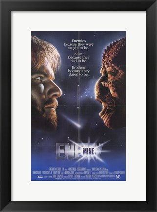 Framed Enemy Mine Print