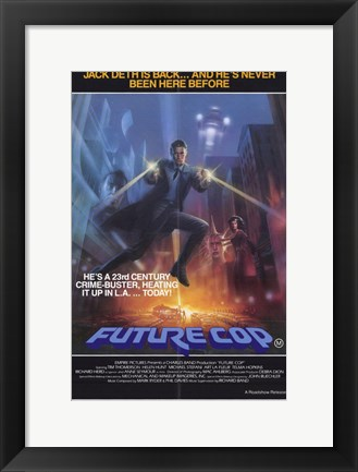 Framed Trancers movie poster Print