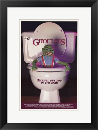Framed Ghoulies Print