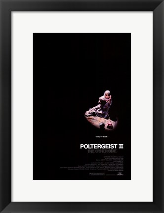 Framed Poltergeist 2: The Other Side Print