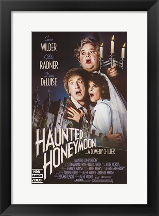 Framed Haunted Honeymoon Print