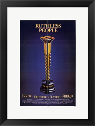 Framed Ruthless People Print
